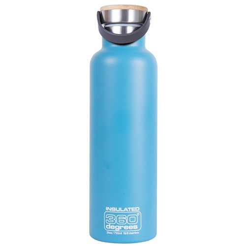 360 Degrees Insulated Stainless Steel Water Bottle - 750ml Aqua