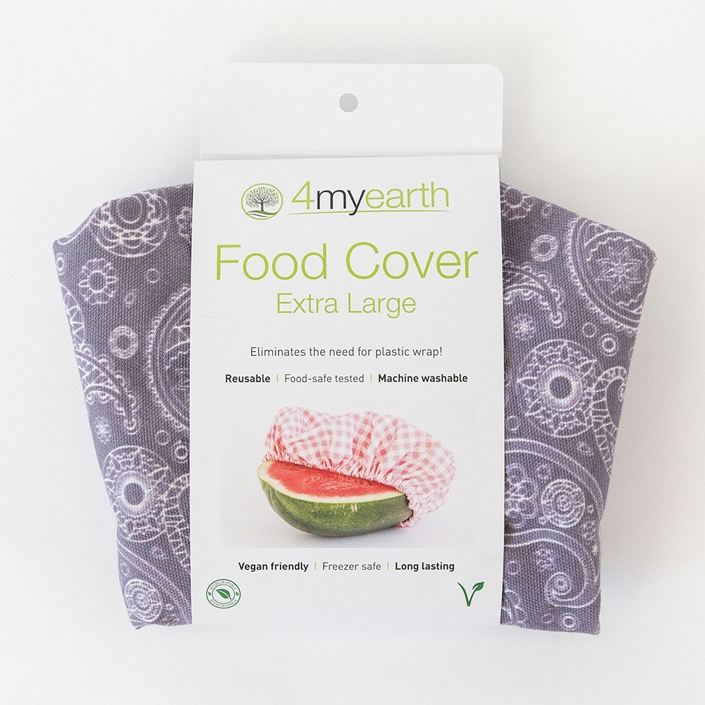 4MyEarth Reusable Food Cover XL - Paisley