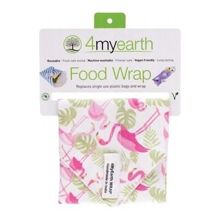 4MyEarth Sandwich Wrap - Flamingoes