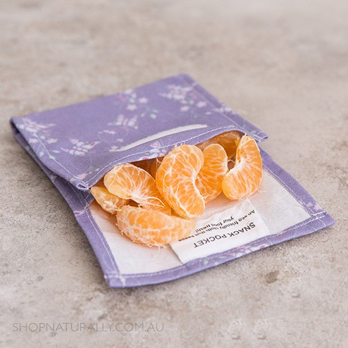 4MyEarth Snack Pocket - Butterfly