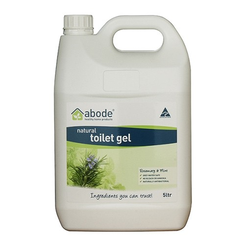 Abode Natural Toilet Cleaner Gel - 5 litres Rosemary & Mint