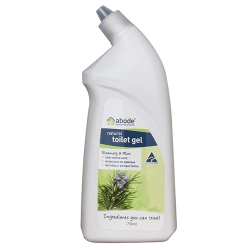 Abode Natural Toilet Cleaner Gel - 750ml Rosemary & Mint