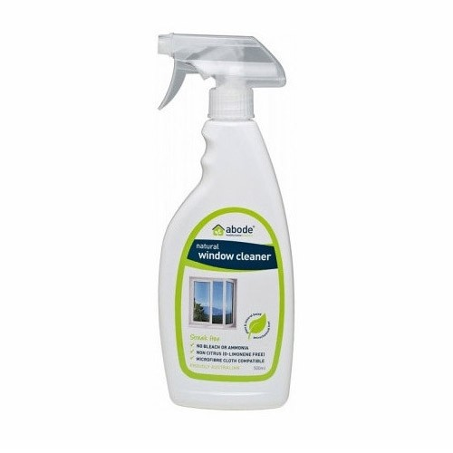 Abode Natural Window Cleaner Spray - 500ml Fragrance Free