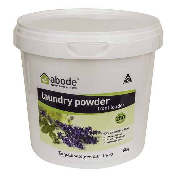 Abode Front Loader Laundry Powder - 5kg Lavender & Mint