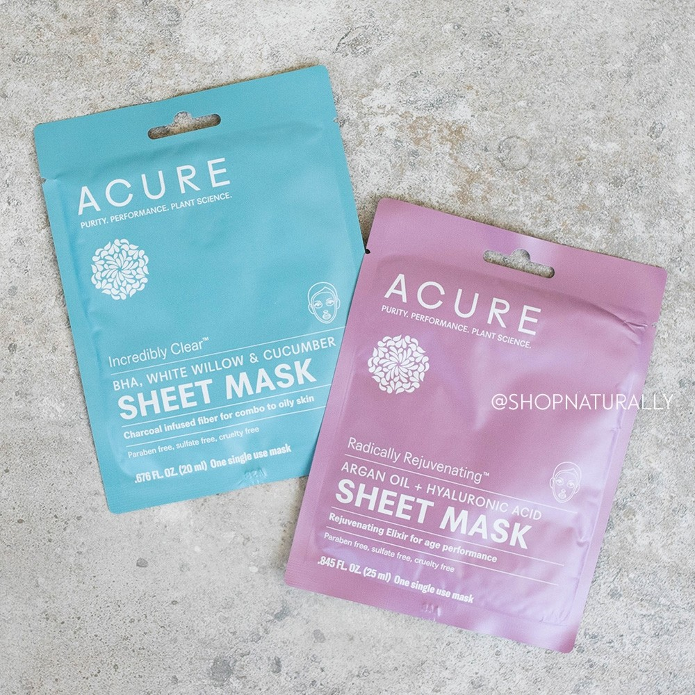 Acure Sheet Mask GWP - Choose One