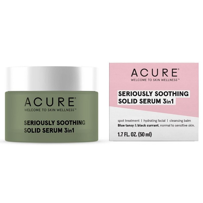 Acure Seriously Soothing Solid Serum 3in1 - 50ml