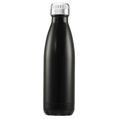 Avanti Stainless Steel Insulated Water Bottle / Flask - 1 litre Black
