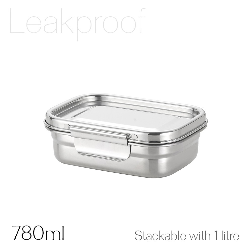 Avanti Dry Cell Stainless Steel Leakproof Food Container - 780ml