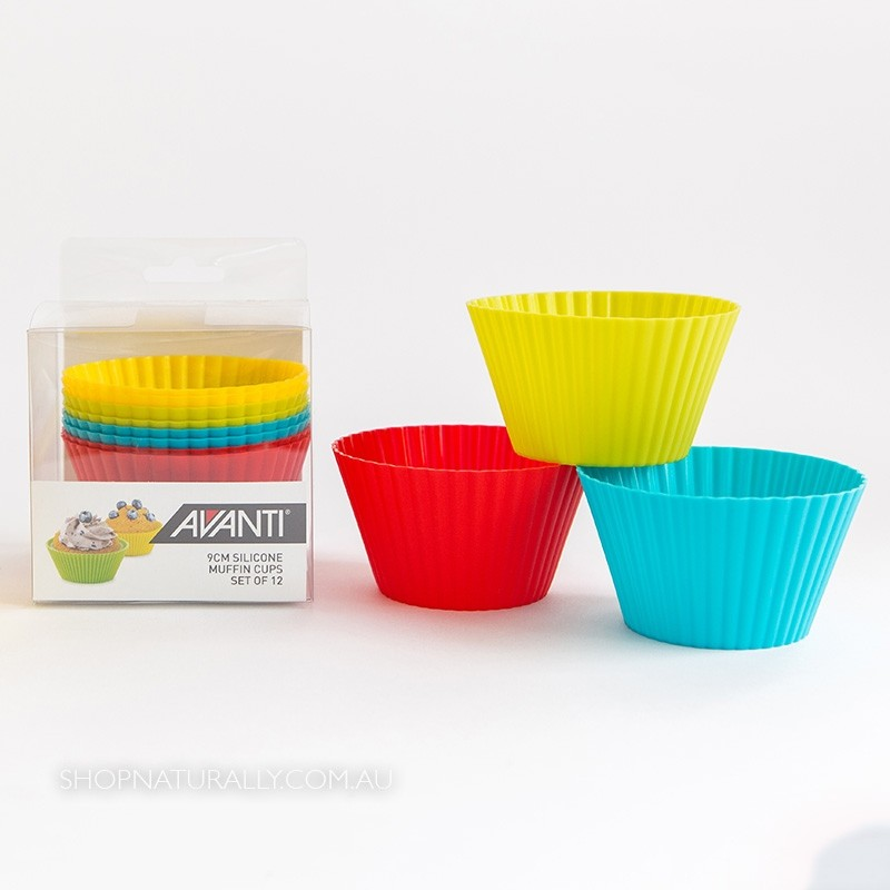 Avanti Reusable Silicone Muffin Cups - 12 Pack
