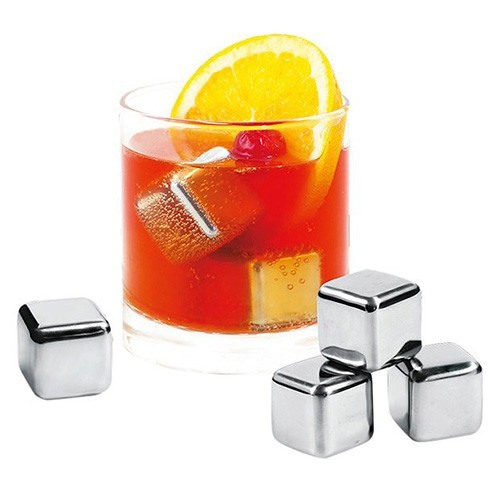 Avanti Stainless Steel Ice Cubes - 4 Pack