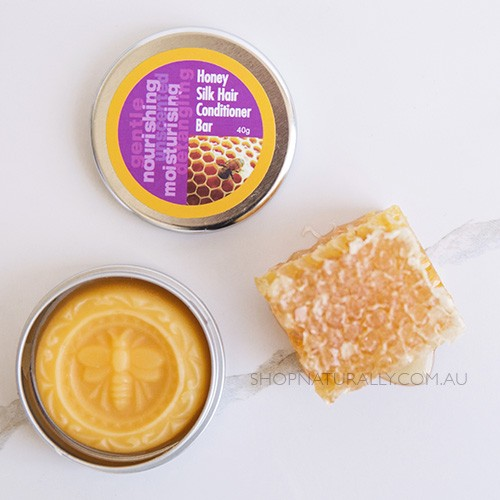 Beauty & The Bees Conditioner Bar 35g - Honey Silk