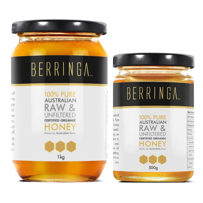 Berringa Raw Unfiltered Organic Honey