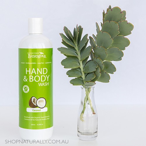 Biologika Hand & Body Wash - Coconut 500ml