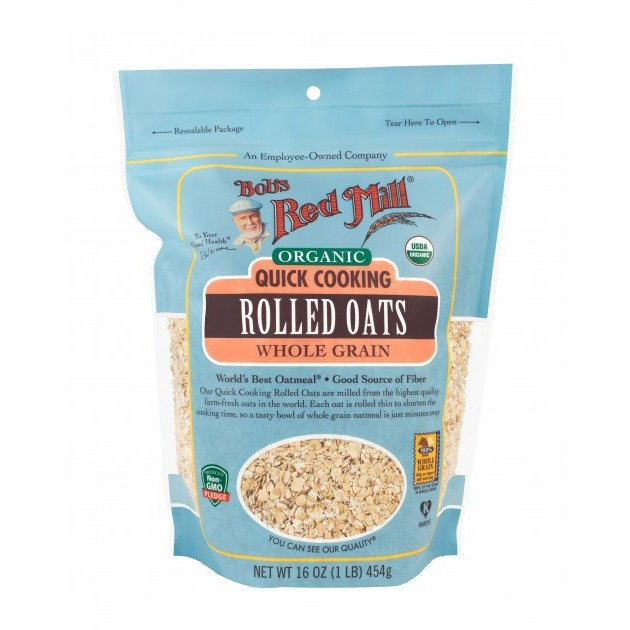 Bobs Red Mill Organic Quick Oats 453g