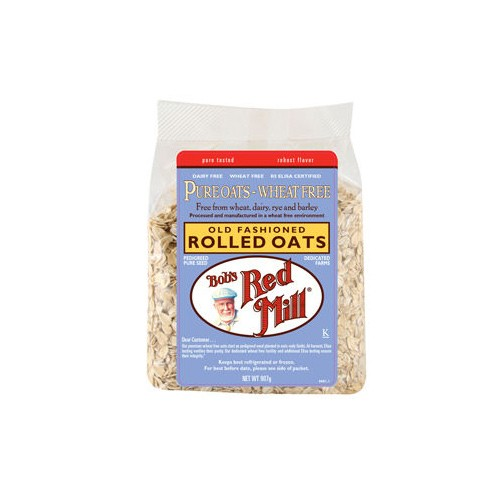 Bob's Red Mill Rolled Oats (Pure Wheat Free) - 907g