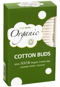 Simply Gentle Organic Cotton Buds - 200