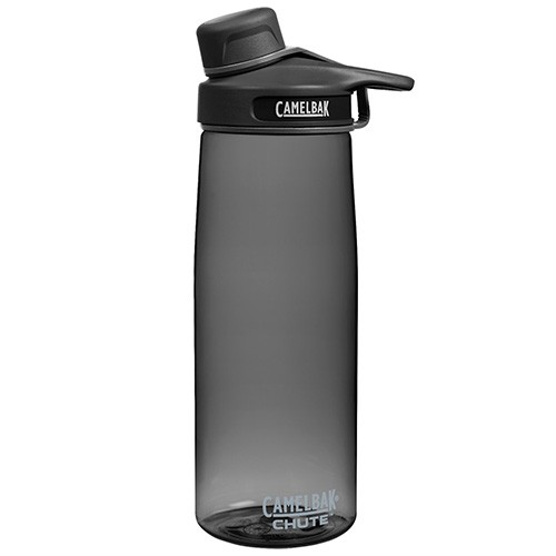 Camelbak Chute Water Bottle - BPA Free Tritan Plastic with screw lid - 750ml Charcoal
