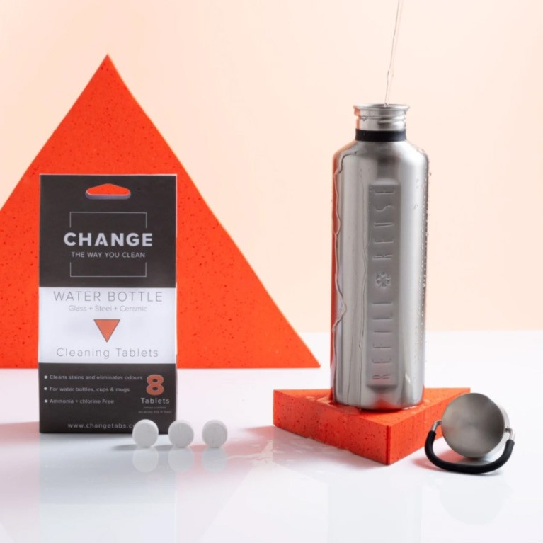 Change Water Bottle Cleaning Tablets - 2 Sizes
