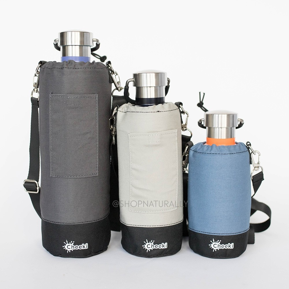Cheeki Insulated Cotton Water Bottle Cover