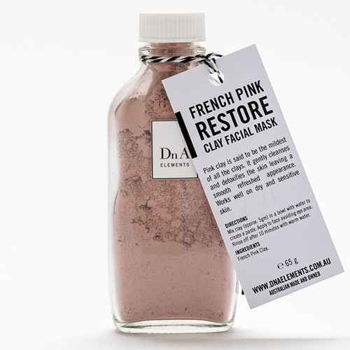 DnA Elements French Pink Restore Clay Mask - 50g
