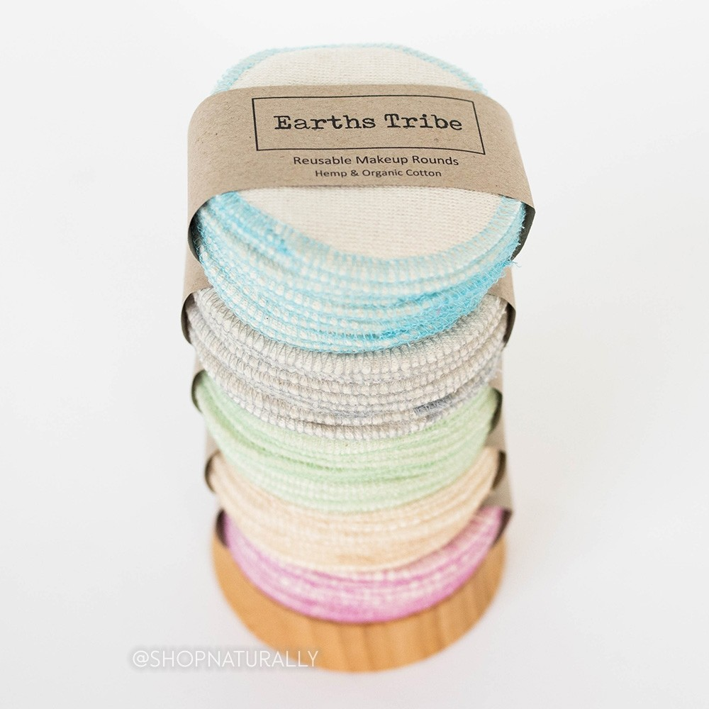Earths Tribe Reusable Makeup Rounds - 10 Pack
