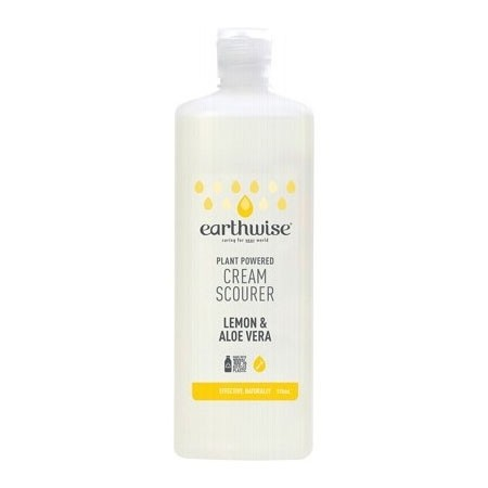 Earthwise Cream Scourer 375ml - Lemon & Aloe Vera