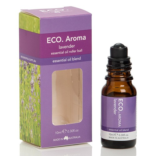 Eco Aroma Lavender Essential Oil Blend - 10ml Rollerball