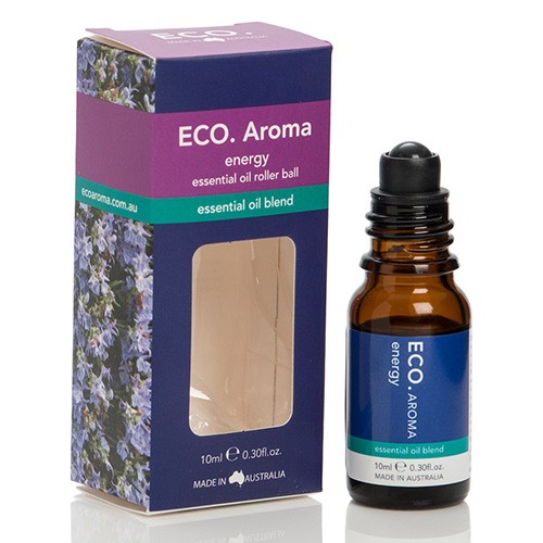 Eco Aroma Energy Essential Oil Blend - 10ml Rollerball