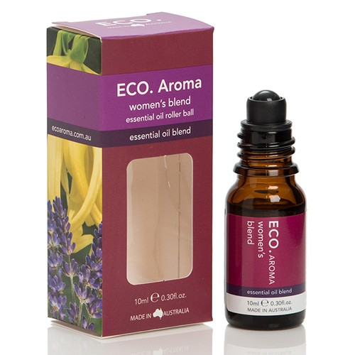 Eco Aroma Women's Blend Essential Oil Blend - 10ml Rollerball