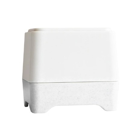 Ethique Bamboo & Cornstarch Shower Container - White