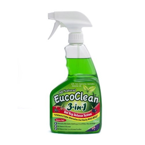 Eucoclean 3-in-1 disinfectant & bed bug spray - 750ml - Eucalyptus