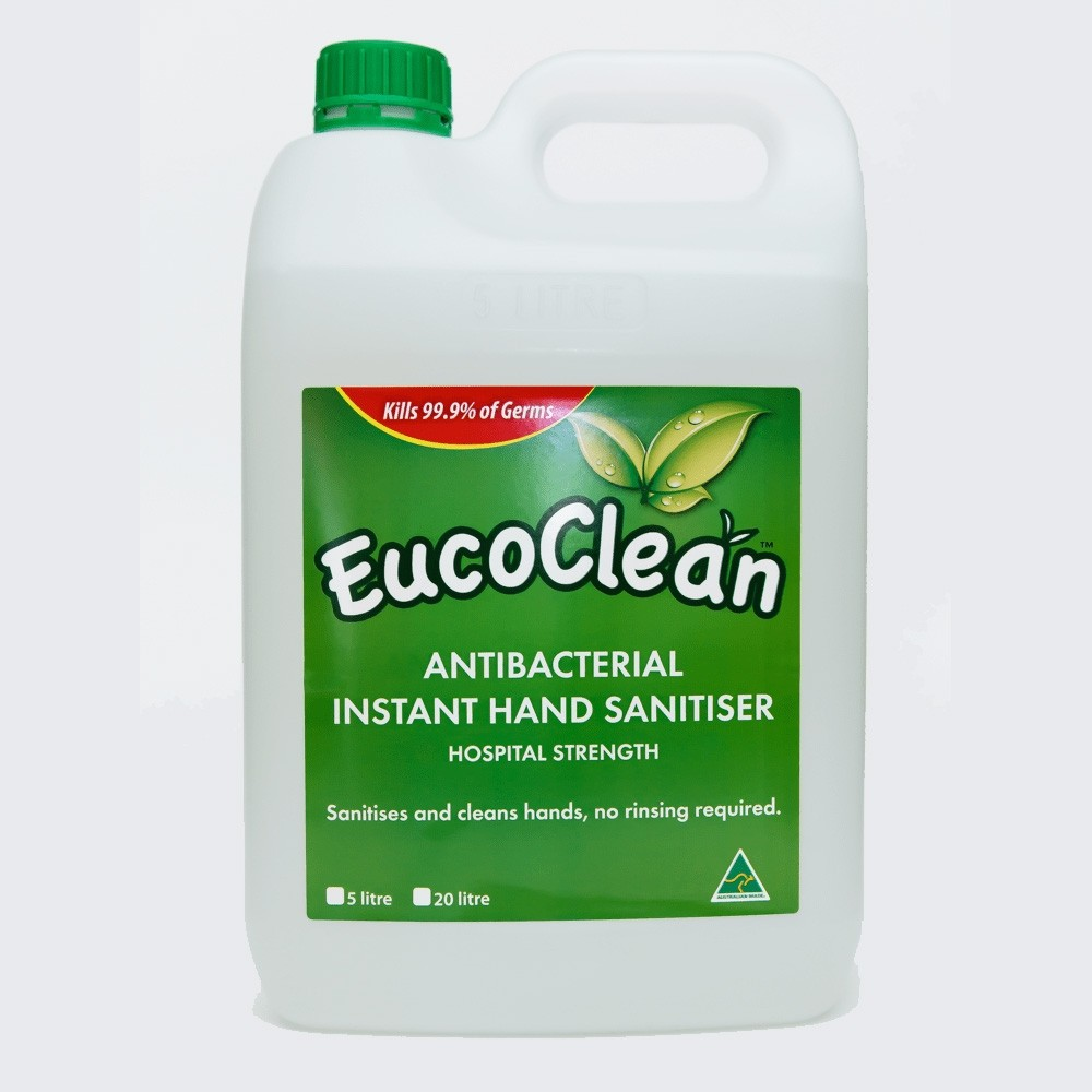 Eucoclean 3-in-1 disinfectant & bed bug spray - 5L- Eucalyptus