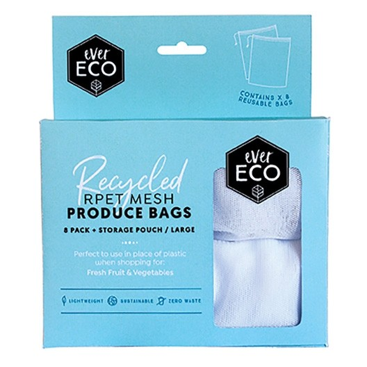Ever Eco Rpet Mesh Produce Bags 8 Pack