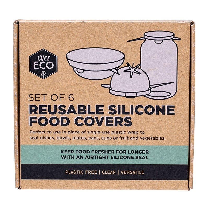 Ever Eco Silicone Food Cover Set of 6
