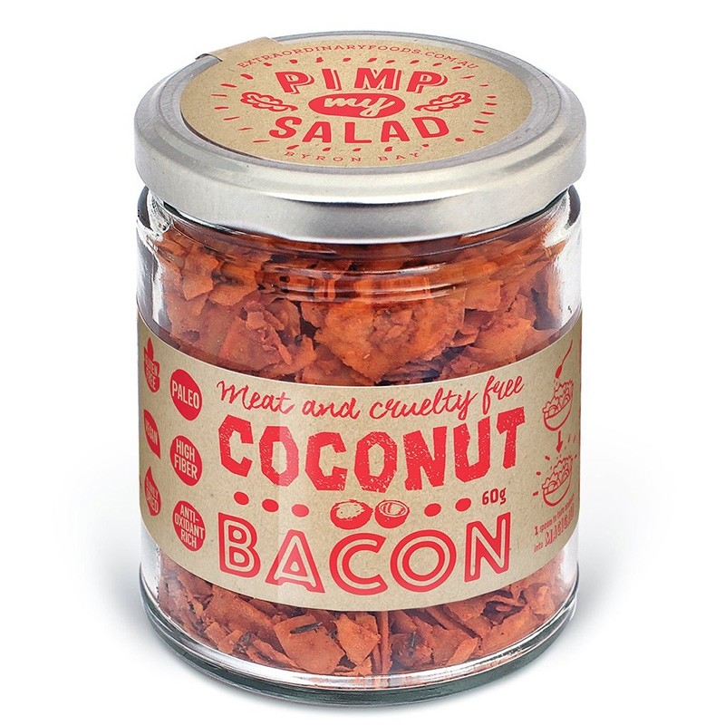 Extraordinary Foods Coconut Bacon (meat free) Pimp My Salad - 60g