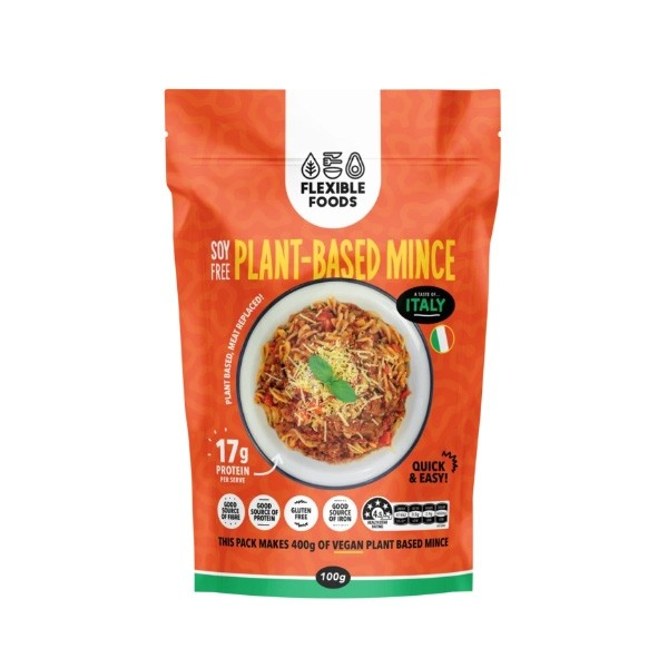 Flexible Foods Plant-Based Mince 100g - A Taste of Mexico