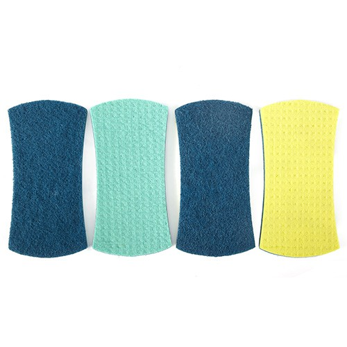 Full Circle Stretch Counter Scrubber Sponges - 4 pack
