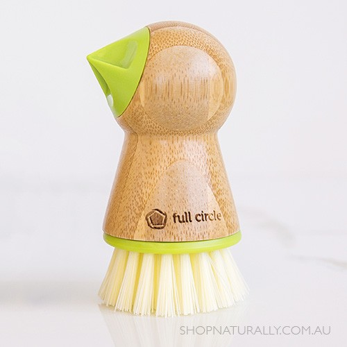 Full Circle Tater Mate Eye-Removing Potato Scrubber - Green
