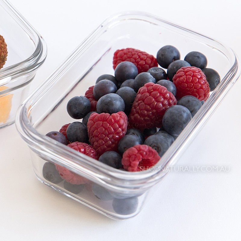 Glasslock Oven Safe Glass Food Container - 485ml Rectangular