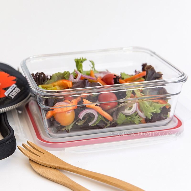 Glasslock Oven Safe Glass Food Container - 1730ml Rectangular