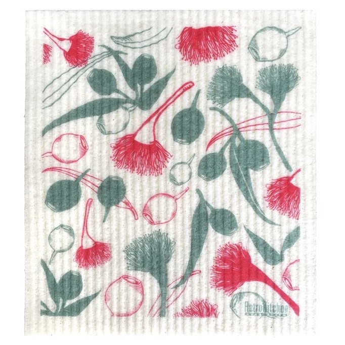 Retro Kitchen Swedish Dish Cloth - Gumnuts