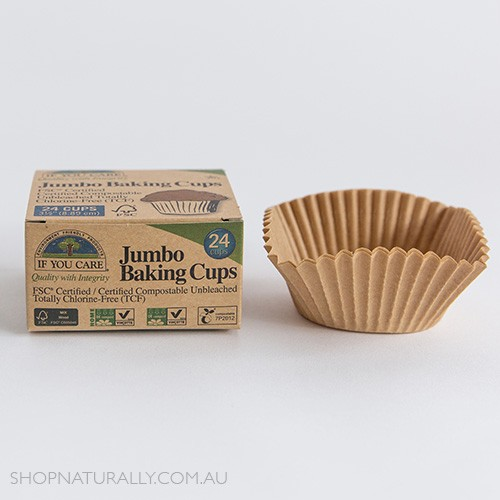 If You Care Unbleached Chlorine Free Baking Cups - Jumbo x 24