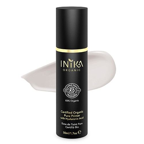 Inika Certified Organic Pure Primer with Hyaluronic Acid - 50ml