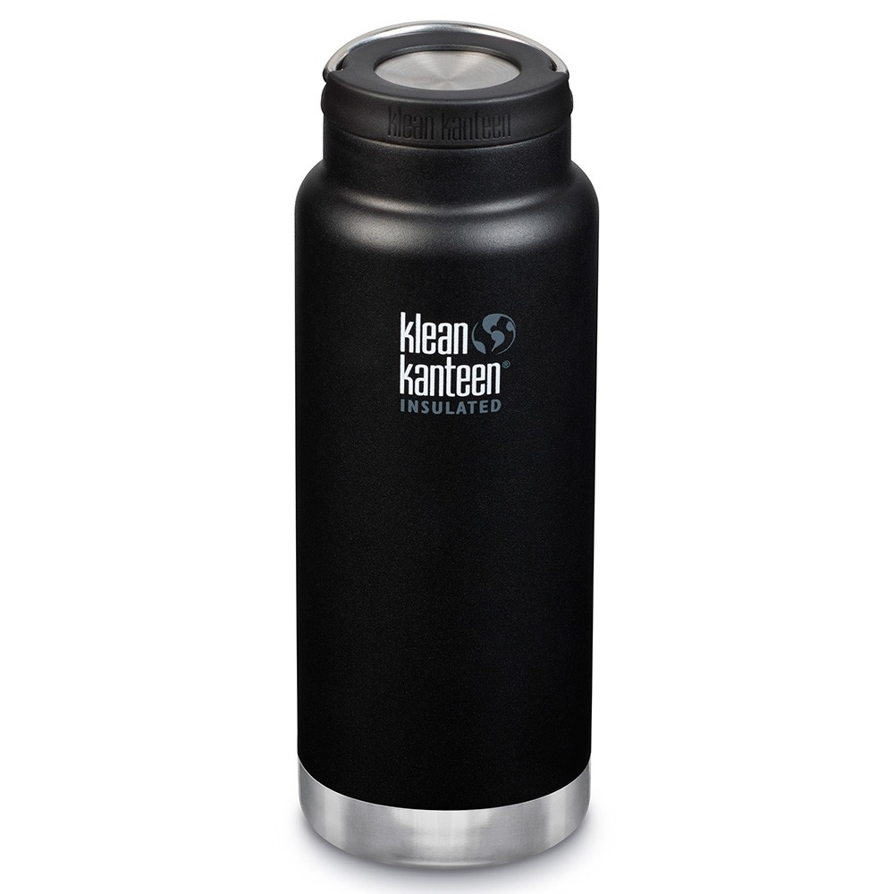 Klean Kanteen TKWide Insulated Bottle with Loop Cap - 32oz Shale Black