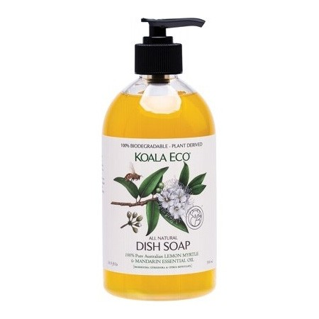 Koala Eco Dish Soap - Lemon Myrtle & Mandarin 500ml