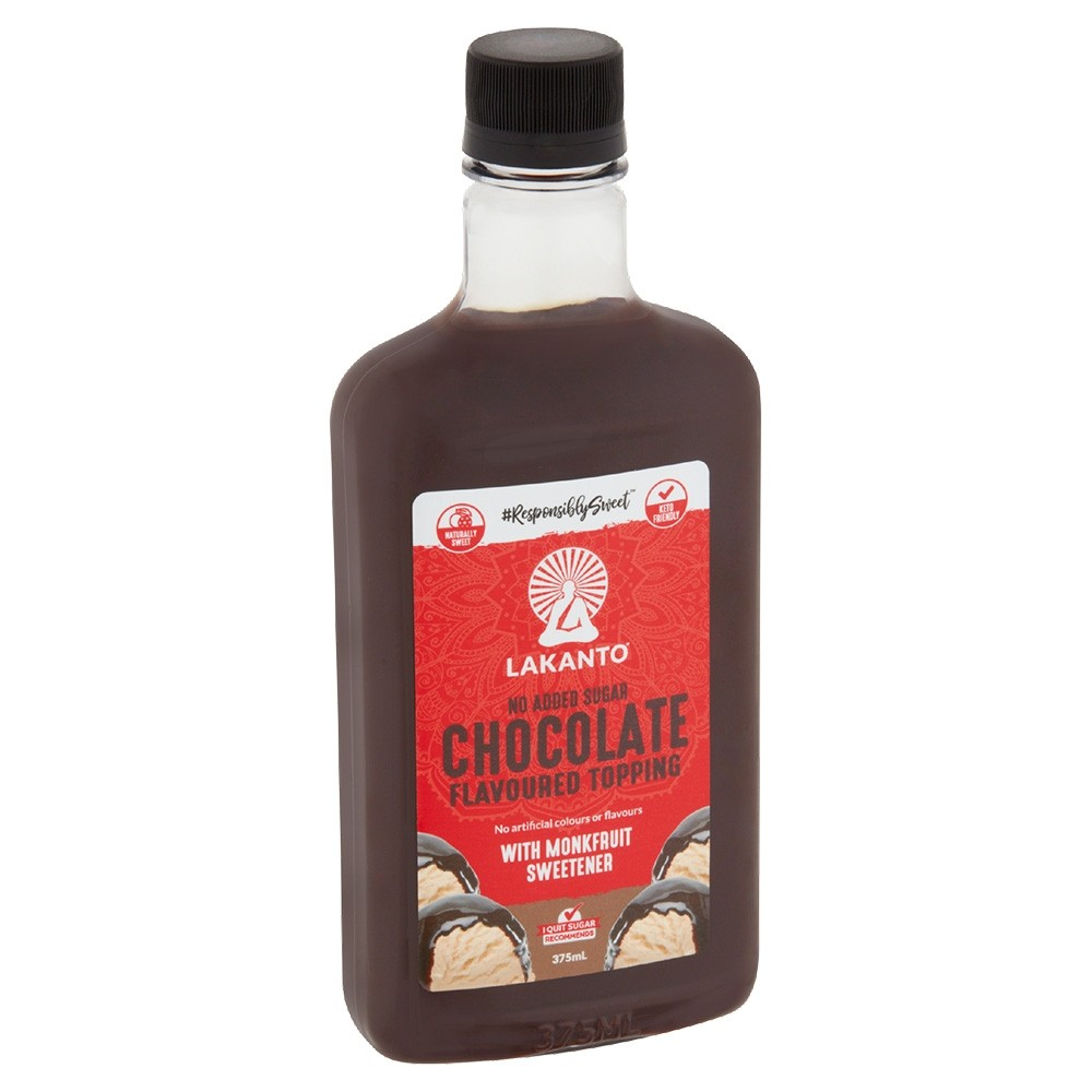 Lakanto Chocolate Topping with Monkfruit 375ml