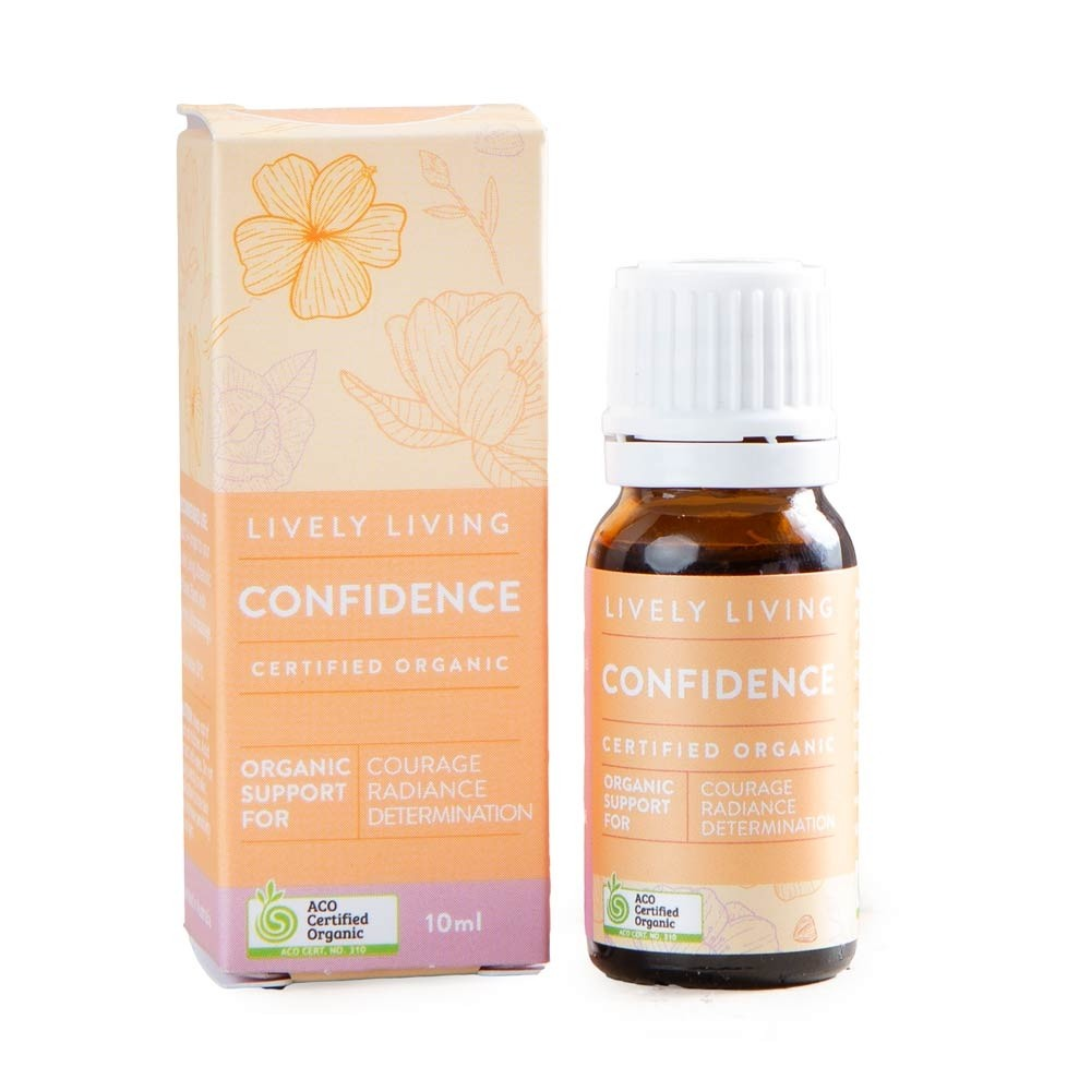 Lively Living Organic Essential Oil Blend - Confidence 10ml