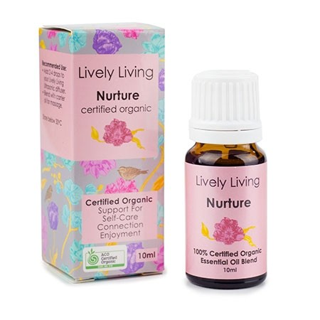 Lively Living Essential Oil Blend - Nurture 10ml