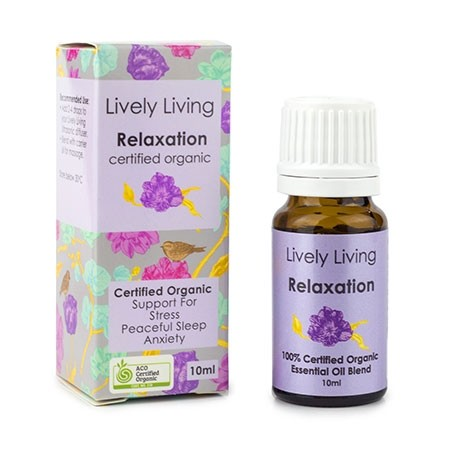 Lively Living Essential Oil Blend - Relaxation 10ml