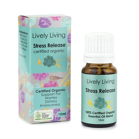 Lively Living Essential Oil Blend - Stress Release 10ml